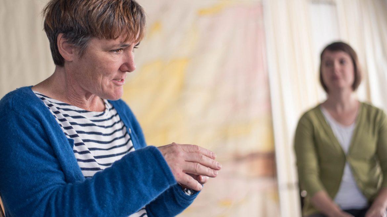Actors looking descriptive - Cracked on Dementia