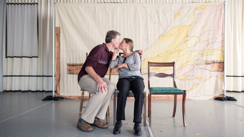 actors kissing - Cracked on Dementia